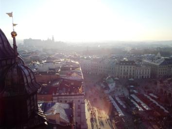 Blick vom Turm der Marienkirche