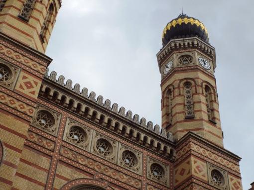 Die Große Synagoge von außen