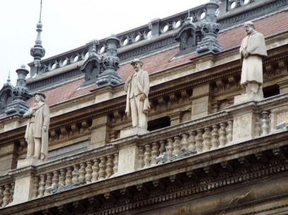 Fassade der Staatsoper