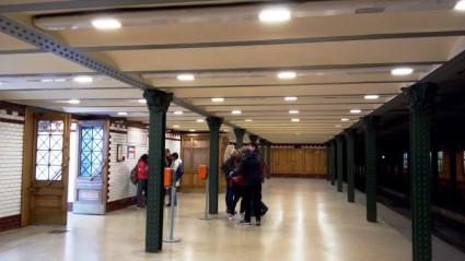 Urige U-Bahn-Station