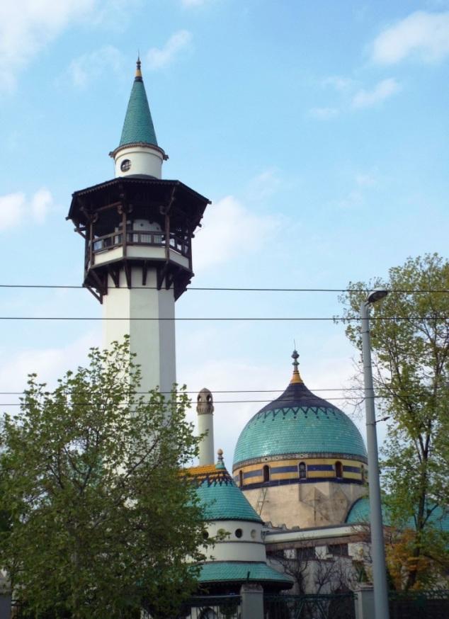 Moscheebau im Budapester Zoo