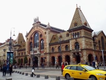 Die älteste Markthalle Budapests
