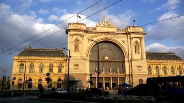 Der Keleti-Hauptbahnhof