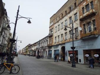 Die Piotrkowska-Straße