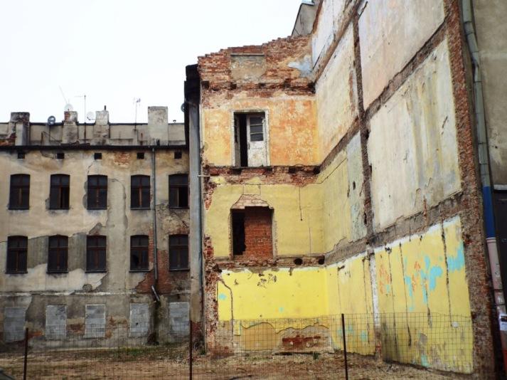 Ruine mitten im Zentrum