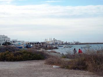 Blick auf die relativ neugebaute Marina