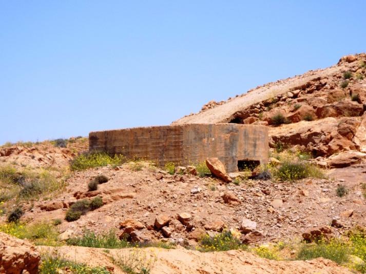 Deutsche Bunker aus dem 2. Weltkrieg