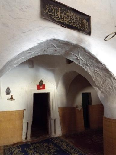 Im Innern der Moschee der sieben Schläfer