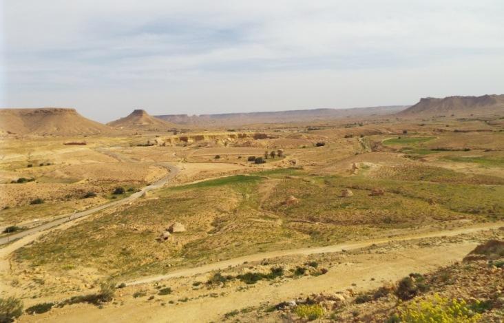 Blick in die Umgebung von Douiret