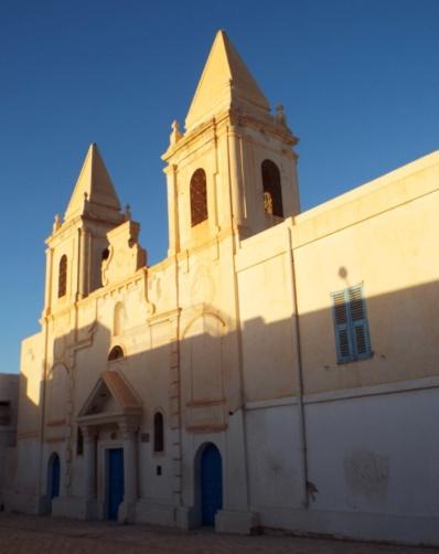 Eine mit deutschen Geldern restaurierte Kirche