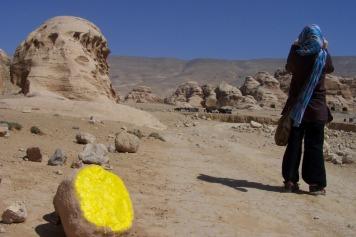 Auf dem Weg nach Little Petra