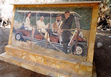 Papst meets jordanisches Königspaar