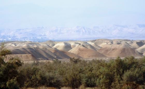 Blick hinüber ins Westjordanland