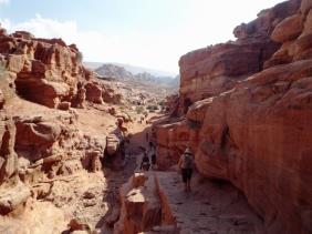 Aufstieg zum Kloster