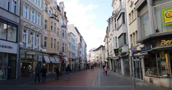 Die Bonner Innenstadt an einem Samstagnachmittag (!)